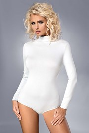 Body Alberta alb, din bumbac