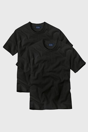 2pack tricou barbatesc Black