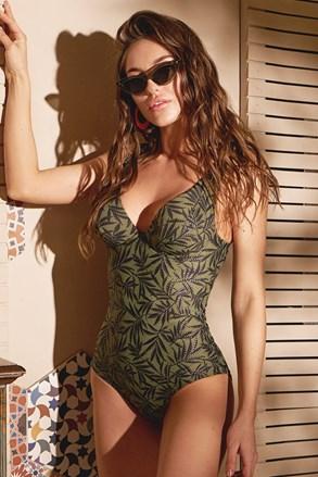 Costum de baie dintr-o singură piesă de damă Green Nature