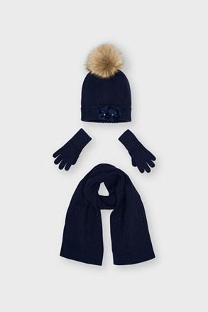 SET pentru fetițe Mayoral căciulă fular și mănuși
