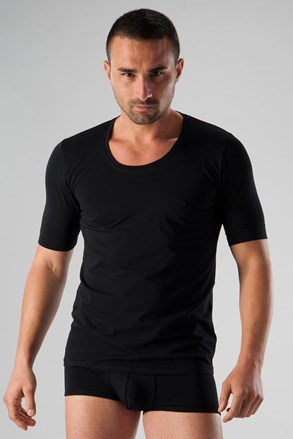 Tricou barbatesc Basic 51T9 negru