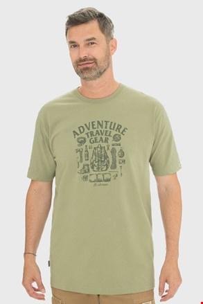 Tricou Bushman Sims, verde