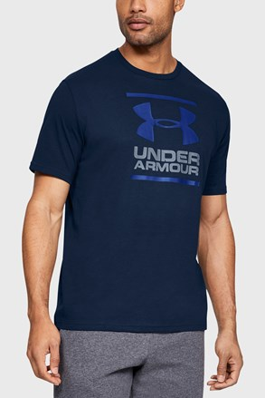 Tricou Under Armour Foundation, albastru inchis