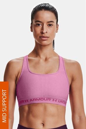 Sutien sport roz Under Armour Crossback Heather