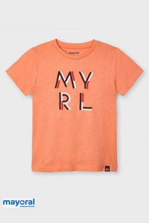 Tricou pentru copii Mayoral Apricot