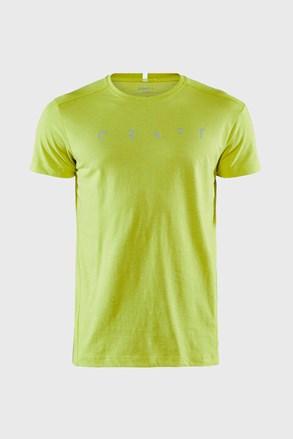 Tricou barbatesc CRAGT Deft SS, verde