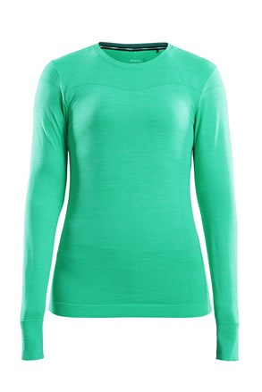 Bluza dama Craft Fuseknit Comfort, verde vibrant