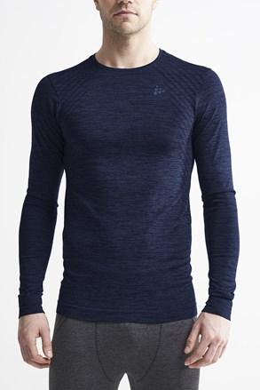 Bluza barbateasca Craft Fuseknit Comfort, albastru inchis, material functional