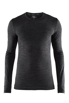 Bluza barbateasca Craft Fuseknit Comfort, gri inchis
