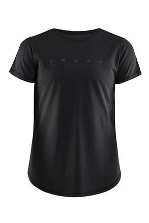 Tricou dama CRAFT Deft, negru