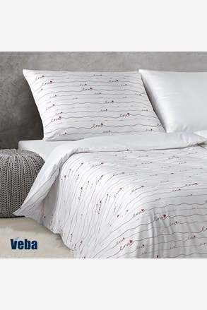 Lenjerie de pat din damasc Love