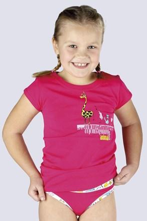 Tricou Amazing roz, pentru fetite