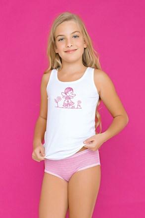 Set pentru fetite Fairy, chilot si maiou, roz
