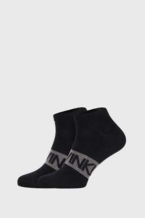 2 PACK șosete Calvin Klein Dirk, negru