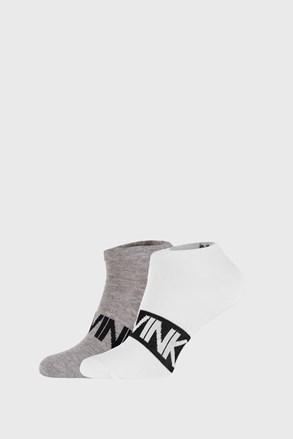 2 PACK sosete Calvin Klein Dirk, gri-alb