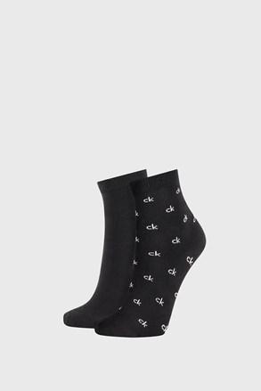 2 PACK șosete damă Calvin Klein Gretchen, negru