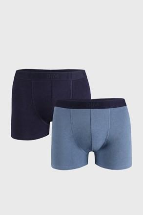 2 PACK boxeri DIM Soft albaștri