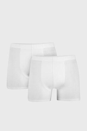 2 PACK boxeri barbatesti Uomo Cotton, alb