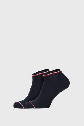 2 PACK șosete Tommy Hilfiger Iconic Sneaker, albastru