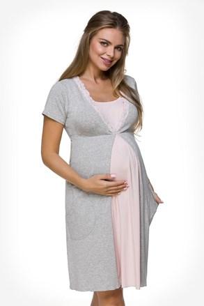 Cămașă de noapte Charlie, sarcină și alăptare