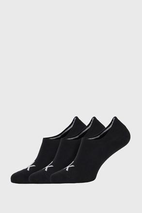 3 PACK șosete Calvin Klein Albert, negru
