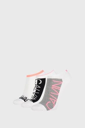 3 PACK șosete damă Calvin Klein Nola, alb