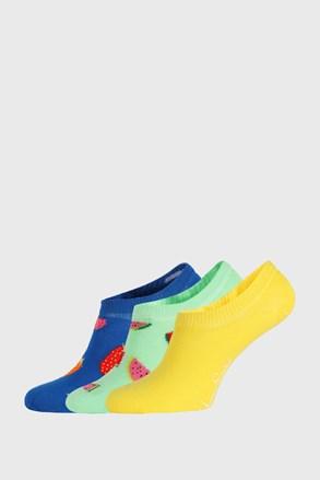 3 PACK șosete Happy Socks Fruits No Show
