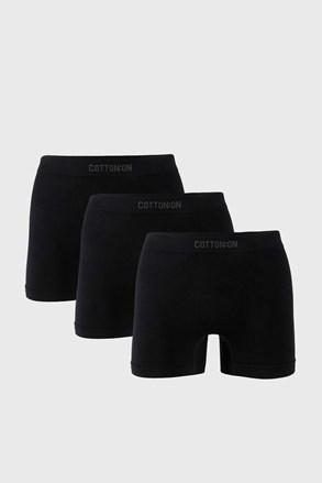 3 PACK boxeri Trunk, negru