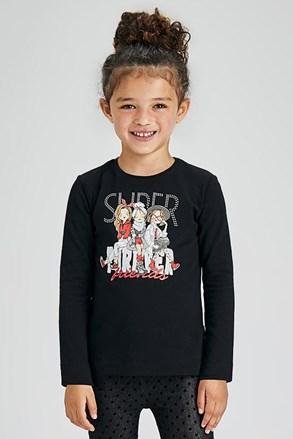 Bluză fetițe Mayoral Super cu mânecă lungă
