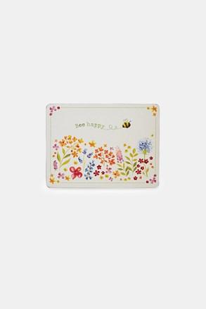 Set suporturi pentru farfurie Bee happy, din pluta