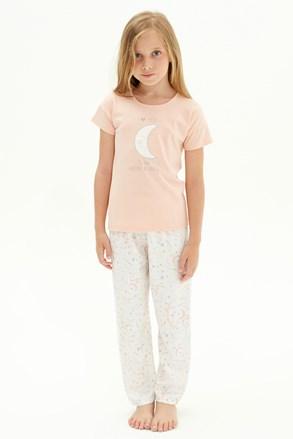 Pijama fetițe To the moon