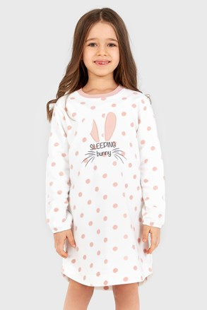 Cămașă de noapte pentru fetițe Soft Bunny