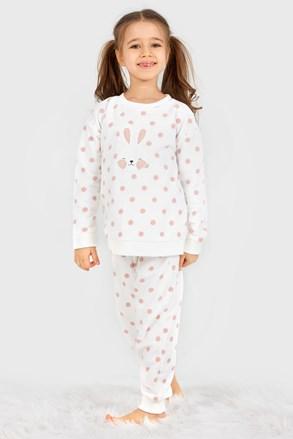 Set călduros pentru fetițe Soft Bunny