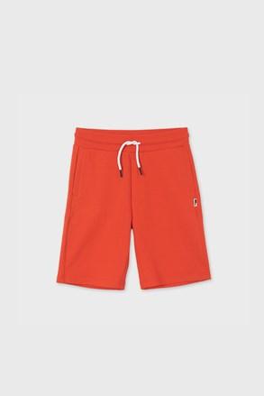 Pantalon scurt băieți Mayoral Hibicus, roșu