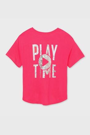 Tricou fetițe Mayoral Playtime, roz