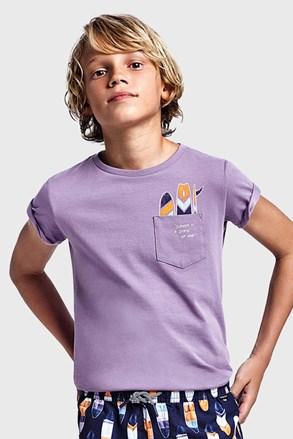 Tricou băieți Mayoral Grape, mov