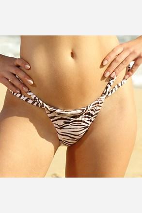 Slip costum de baie Zebra Thick Strap