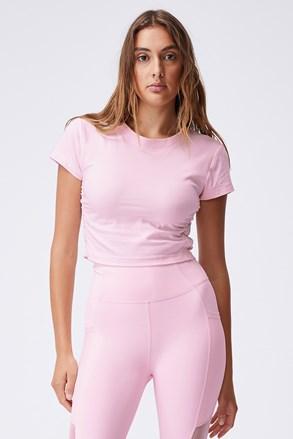 Tricou damă Side roz