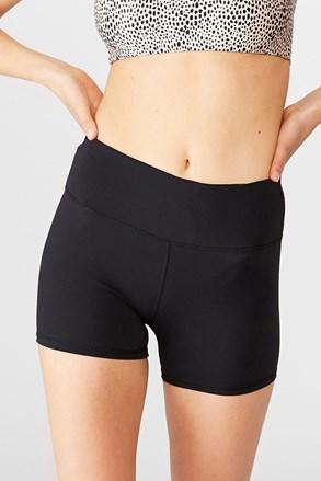 Pantalon scurt sport Highwaist II negru