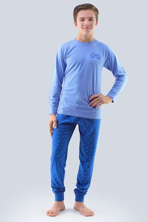 Pijama baieti Atlantic, albastru deschis