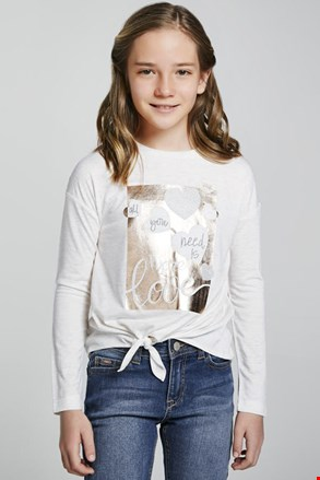 Tricou fetițe Mayoral More love