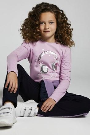 Bluză cu mânecă lungă pentru fetițe Mayoral Music