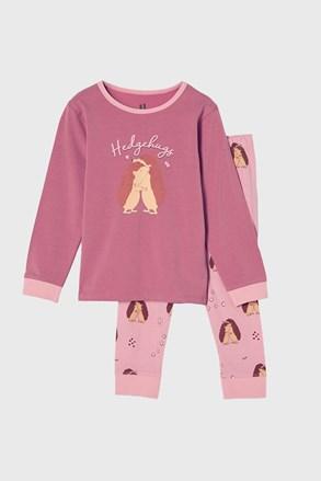 Pijama fetițe Hedgehog hugs
