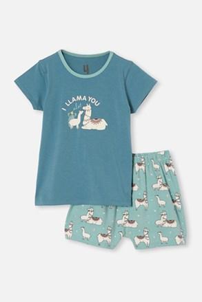 Pijama fetițe Lama