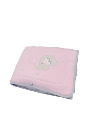 Patura pentru copii Blue Kids, elefant roz
