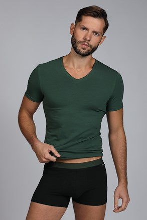 SET barbatesc Raw man, tricou si boxeri, verde