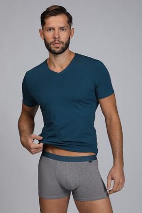 SET barbatesc RAw man, tricou si boxeri, albastru-verde