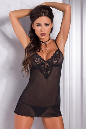 Set seducator, neglijeu si chilot Amira