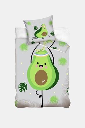 Lenjerie de pat pentru copii Avocado