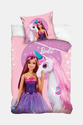 Lenjerie de pat pentru copii Barbie